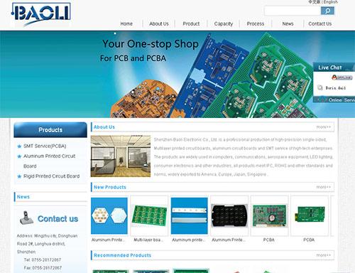 Shenzhen Baoli Electronics Co,.LTD