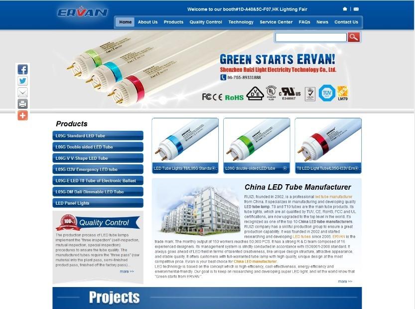 外贸网站建设之ERVAN