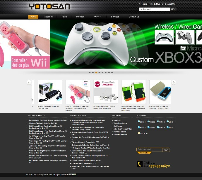 外贸网站Yotosan